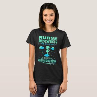 T-shirt Les anesthésistes d'infirmière sont des anges de