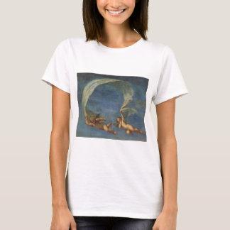 T-shirt Les anges détaillent d'Adonis ont mené par des