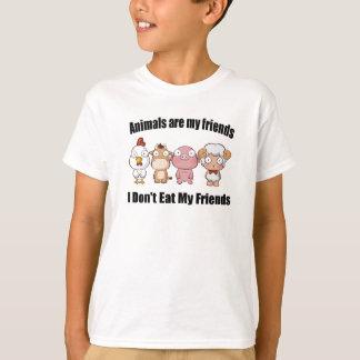 T-shirt Les animaux sont mes amis