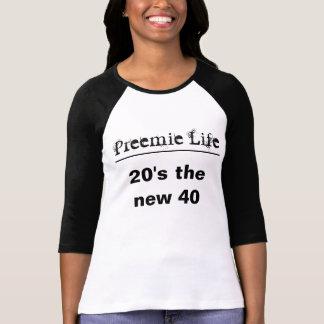 T-shirt les années 20 les nouveaux 40