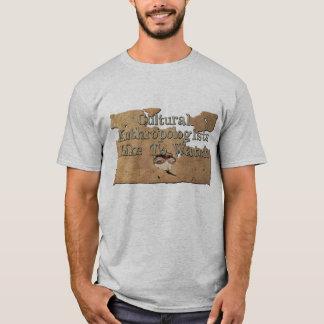 T-shirt Les anthropologues culturels aiment observer