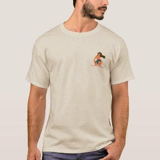 T-shirt Les attraits de Peeler de culotte entrent et