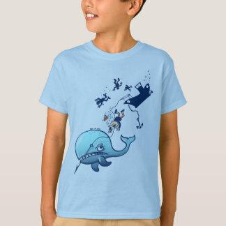 T-shirt Les baleines sont furieuses !