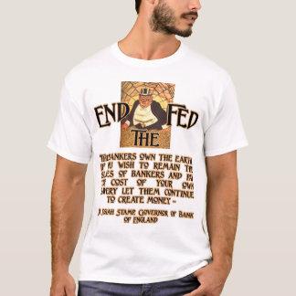 T-shirt Les banquiers possèdent la terre