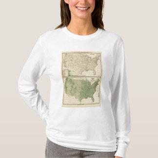 T-shirt Les bassins fluviaux, sylviculture