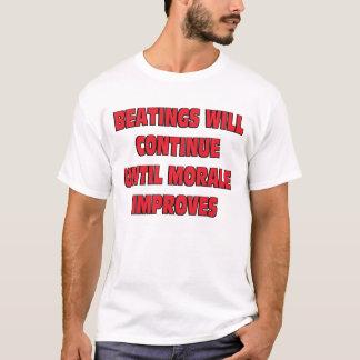 T-shirt Les battements continueront
