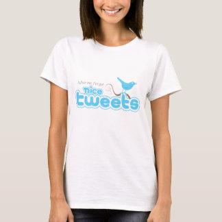 T-shirt Les bips gentils court-circuitent les dames T de