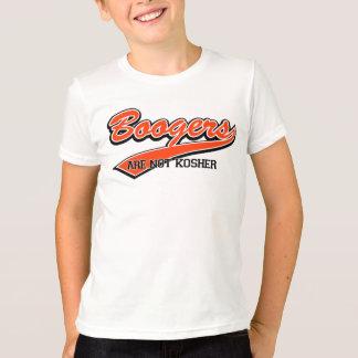 T-shirt Les Boogers ne sont pas cachers