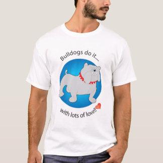 T-shirt Les bouledogues le font