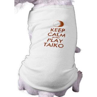 T-shirt Les cadeaux de Taiko gardent la coutume de tambour