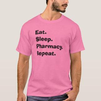 """T-shirt Les cadeaux drôles de pharmacien """"mangent,"""