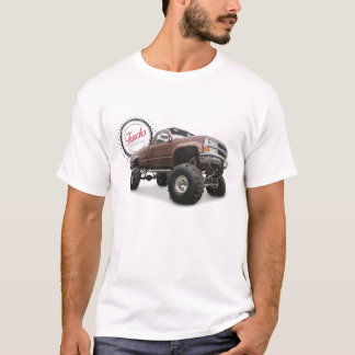 T-shirt Les camions sont beaux (4x4 Chevy)