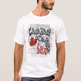 T-shirt Les Canadiens ont volé mon vélo
