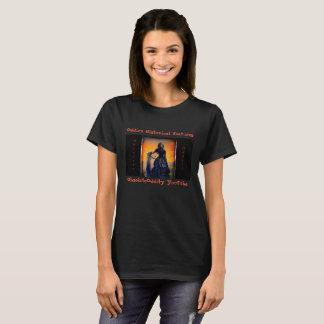 T-shirt Les caractéristiques historiques d'Oddie - veuve