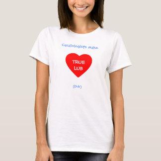 T-shirt Les cardiologues drôles font à copie de Lub le