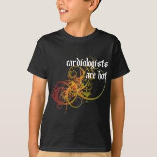 T-shirt Les cardiologues sont chauds