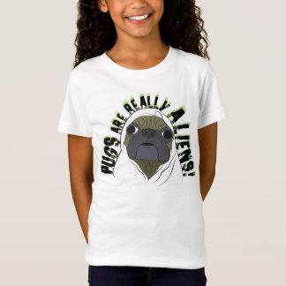 T-Shirt les carlins sont vraiment des aliens