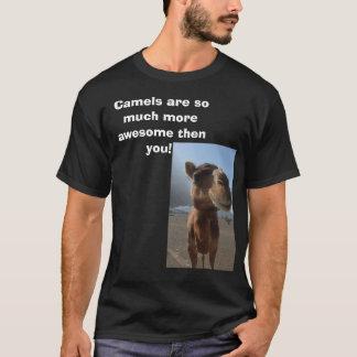 T-shirt Les chameaux sont meilleurs !