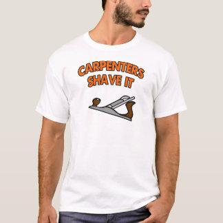 T-shirt Les charpentiers le rasent