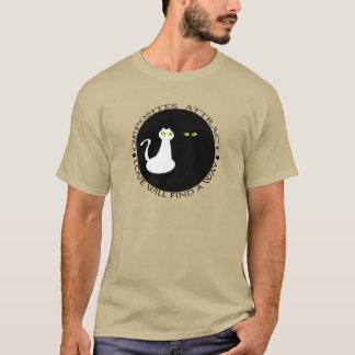 T-shirt Les chats d'amour refroidissent des opposúx