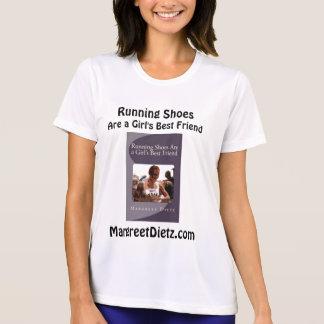 T-shirt Les chaussures de course sont le meilleur ami