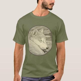 T-shirt Les chemises de Shiba Inu ont personnalisé des