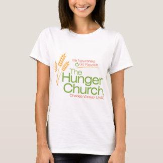 T-shirt Les chemises d'église de faim