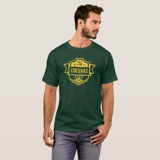 T-shirt Les chemises des hommes d'emblème de Spetsnaz CCCP