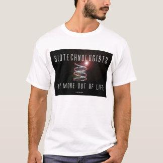 T-shirt Les chercheurs biologiste obtiennent plus hors de