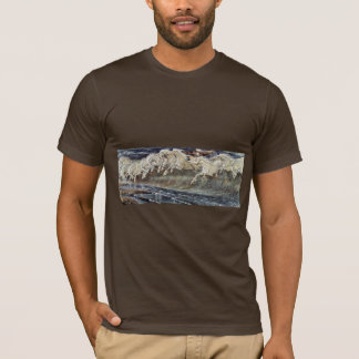 T-shirt Les chevaux de Neptune par la grue Walter