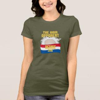 T-shirt Les cheveux évidents - Bernie pour le président