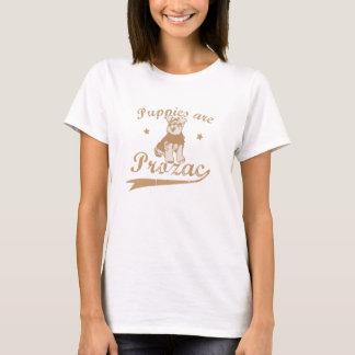 T-shirt Les chiots sont Prozac