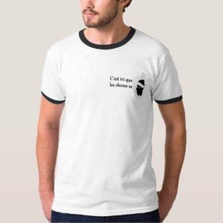 T-shirt Les choses se corsent