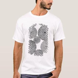 T-shirt Les chrysanthèmes de l'école japonaise