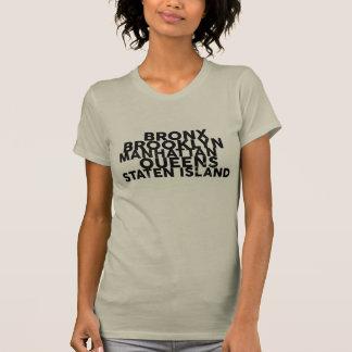 T-shirt Les cinq villes