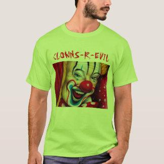 T-shirt Les clowns sont mauvais