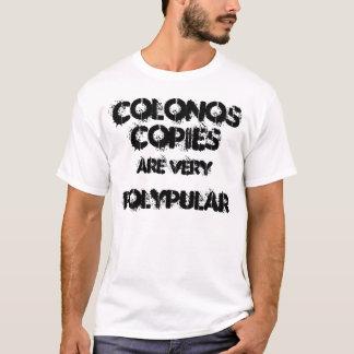 T-shirt Les coloscopies sont très polypular.