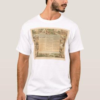T-shirt Les commandements du mineur Dix (1081A)