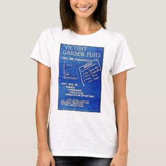 T-shirt Les complots de jardin de victoire, libèrent pour