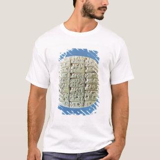 T-shirt Les comptes ajournent avec le manuscrit