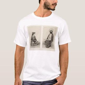 T-shirt Les costumes de Bakou, côte caspienne, plaquent 35