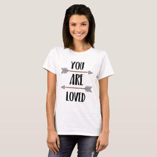 T-shirt les couples romantiques de citation simple vous