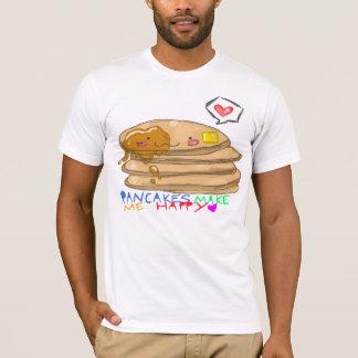 T-shirt les crêpes me rendent heureux