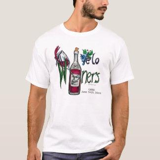T-shirt Les Cyclistes-GOBA 2014 de Velo Winers avec des