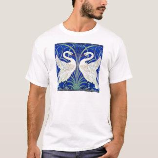 T-shirt Les cygnes par la grue de Walter
