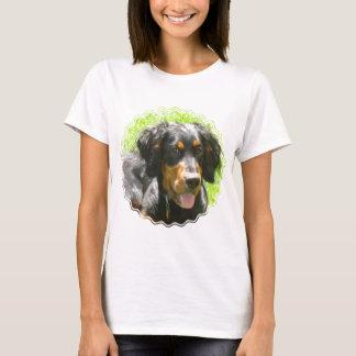 T-shirt Les dames de chien de poseur de Gordon ont adapté