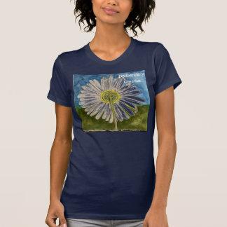 T-shirt Les dames délibérément créatives de marguerite ont