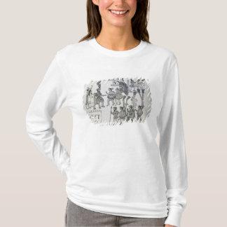 T-shirt Les dernières redditions aztèques de Cuauhtemoc