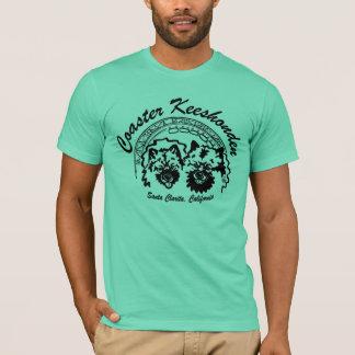 T-shirt les dessous de verre keeshonden