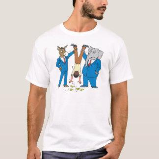 T-shirt Les deux parties sucent